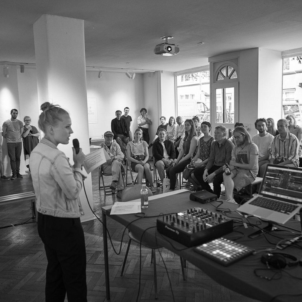 Eröffnung von next media makers der Galerie BOHAI