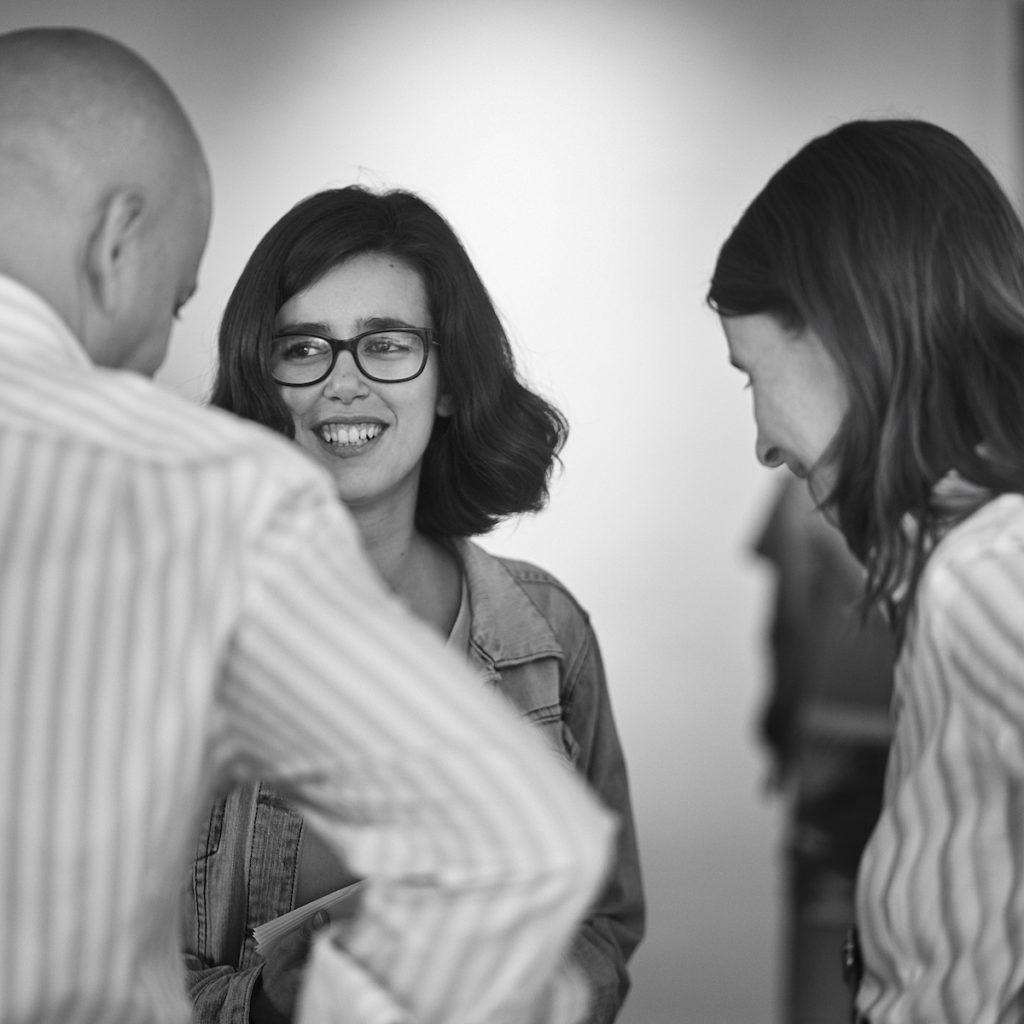 Chiara Thies bei bei der nmm-Eröffnungsparty