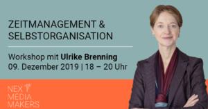 Zeitmanagement & Selbstorganisation 09.12.19 | 18 – 20 Uhr
